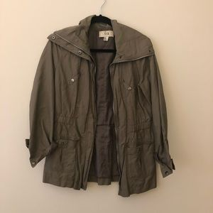 Forever 21 Olive Safari Jacket L